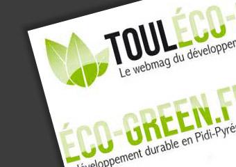 Article sur Coquelicom dans touléco-green