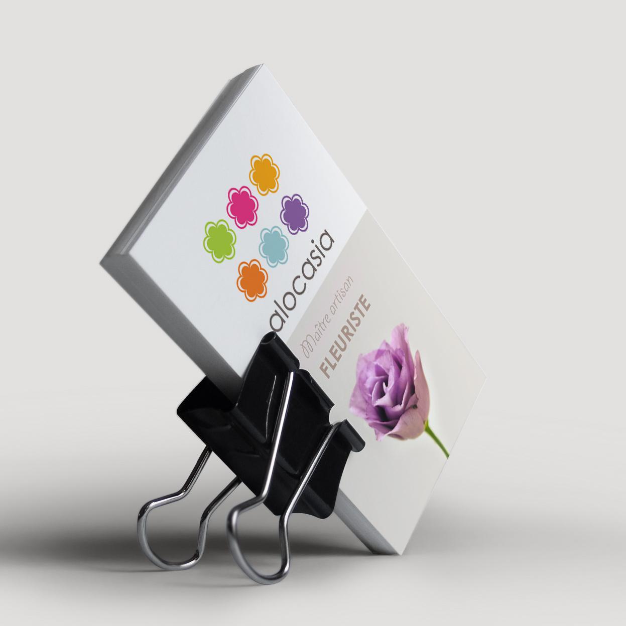 image de carte de visite fleuriste Toulouse