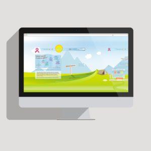 image du webdesign responsive de la fondation Arc