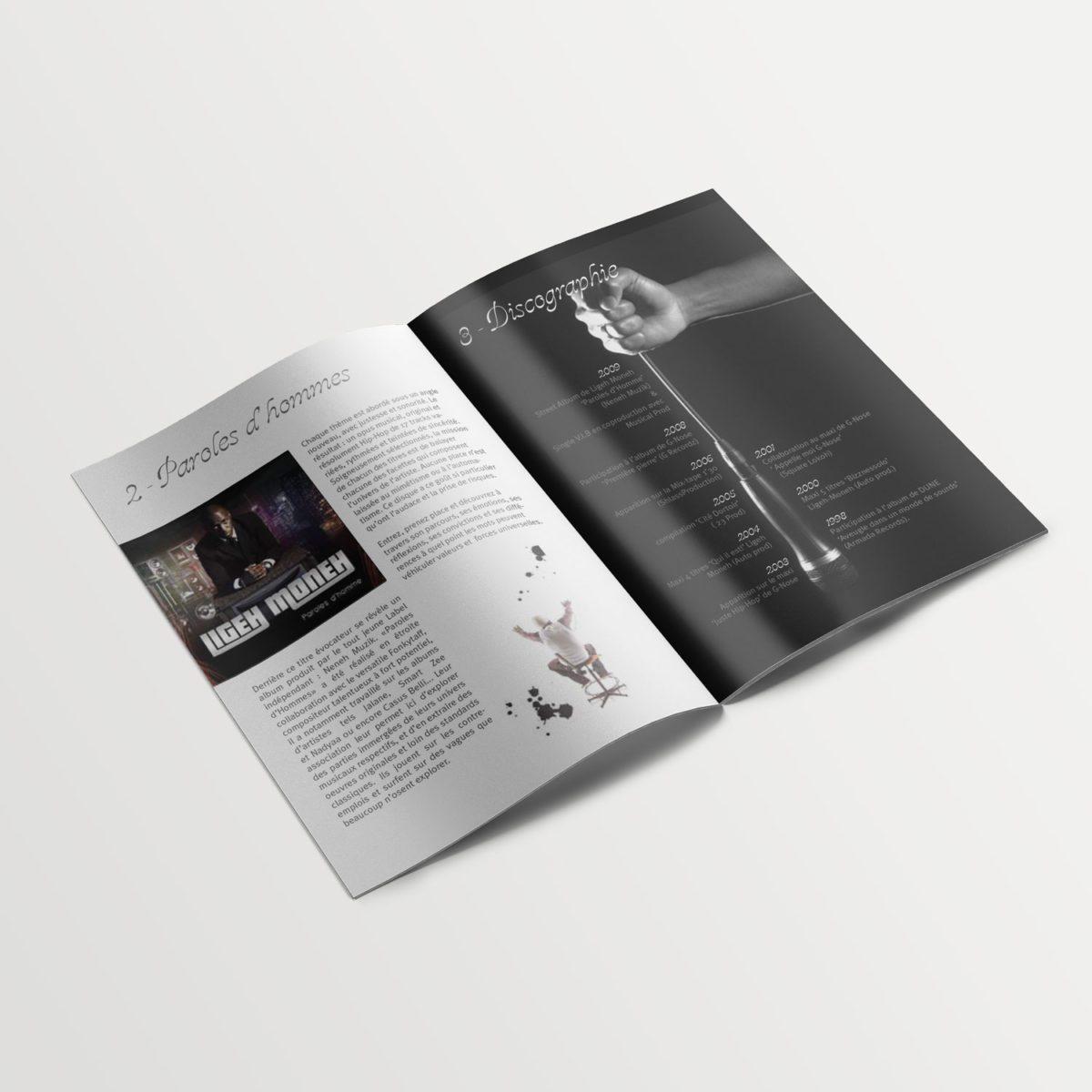 Creation De Dossier De Presse D Artiste Hip Hop Parisien