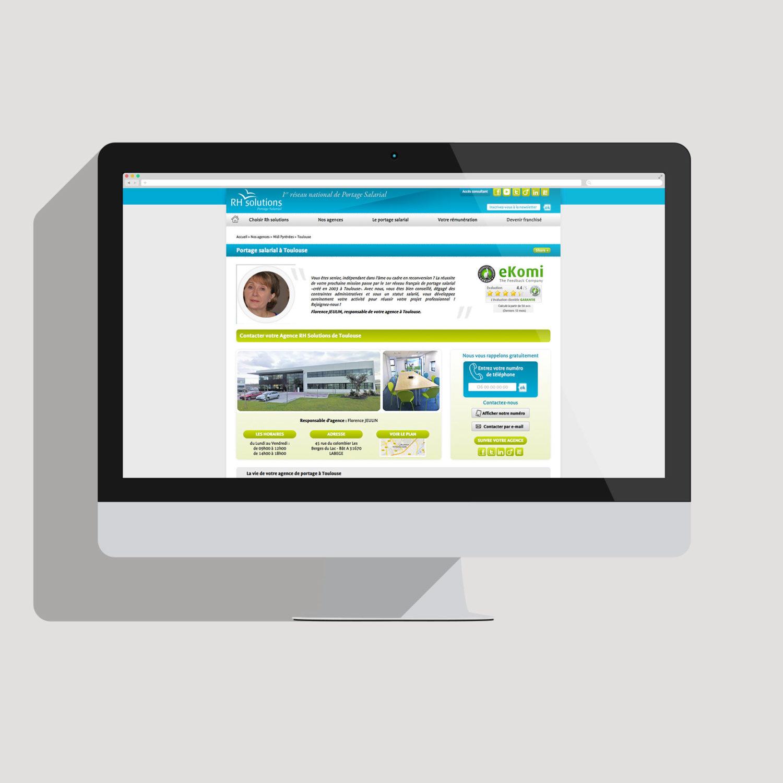 Image d'un responsive webdesign site web Toulouse