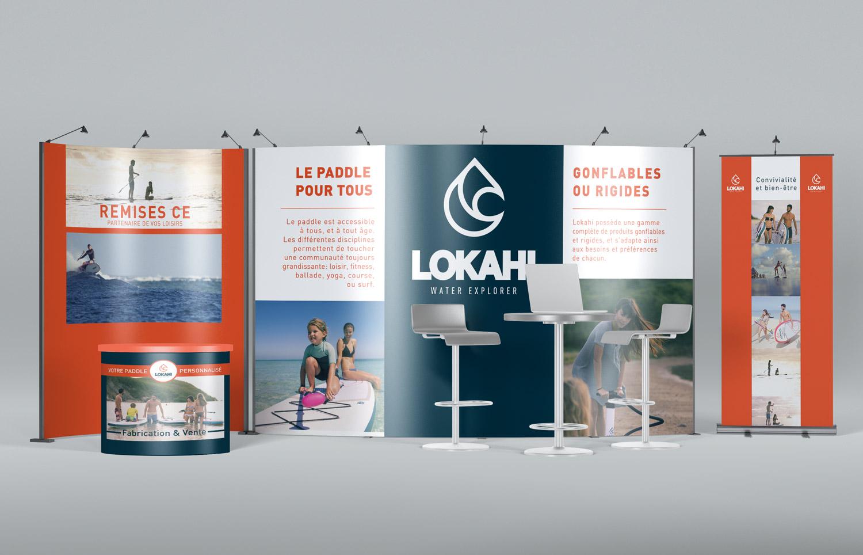 Image du stand pour Lokahi, marque de sport paddle