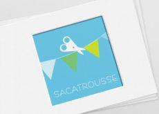 Image du logo de Sacatrousse, créatrice textile, sacs et trousses en tissus
