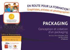 visuel présentant formation financee toulouse packaging